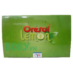 Bù nước điện giải Oresol Lemon