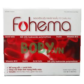 Sắt bà bầu nước dạng ống Fohema