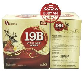 19B Sanofia with Linhzi - Vitamin tổng hợp bổ sung vitamin khoáng chất, kích thích ăn ngon, tăng cường hệ miễn dịch.