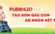 [Review ✍] Cốm hỗ trợ giảm táo bón cho bé Pubokid Gold
