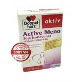 Doppel herz aktiv Active-Meno bổ sung canxi, vitamin d3 và cân bằng nội tiết tố nữ