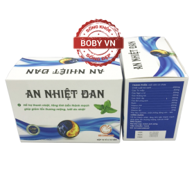 An Nhiệt Đan - Hỗ trợ thanh nhiệt, tăng tính bền thành mạch giúp giảm tổn thương miệng, lưỡi do nhiệt