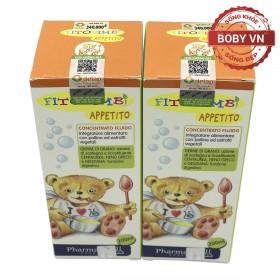 Fitobimbi Appetito giúp bé ăn ngon hơn hỗ trợ biếng ăn ở trẻ - Lọ 200ml