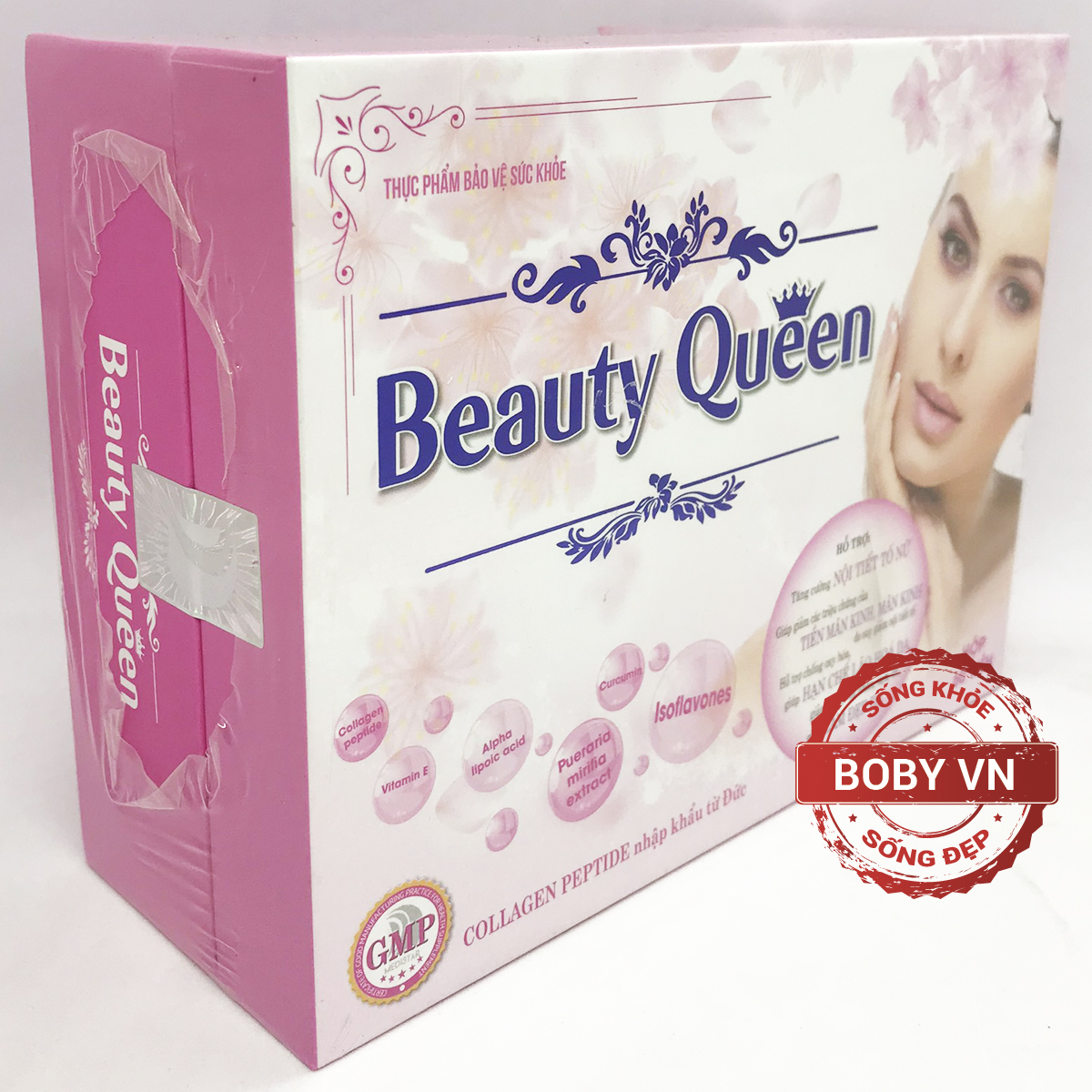 Beauty Queen - Giúp làm đẹp da, tăng cường nội tiết tố nữ