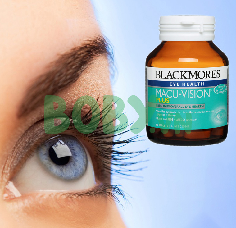 Bổ mắt Blackmores MacuVision Plus