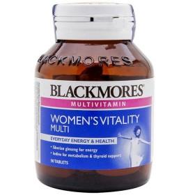 Viên uống cho phụ nữ Vitamin Blackmores Women's vitality multi của Úc