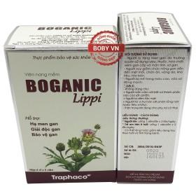 Boganic Lippi giải độc gan hỗ trợ hạ men gan (Hộp 6 vỉ x 5 viên)