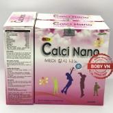 Canxi ống Medi Calci Nano bổ sung canxi cho cả trẻ em và người lớn