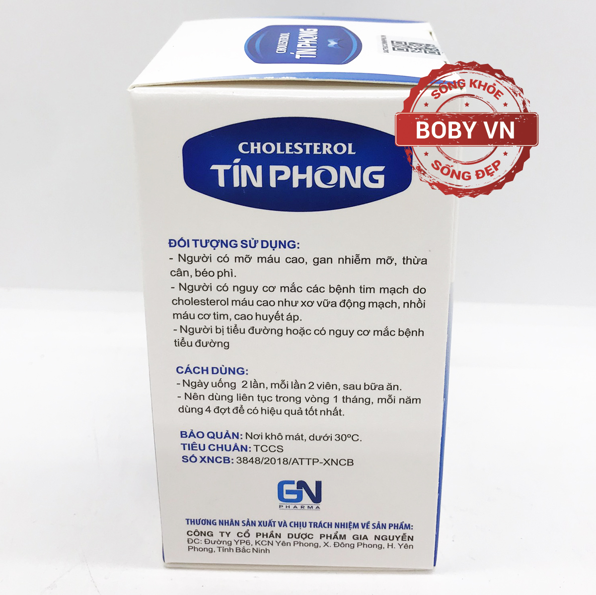 Cholesterol Tín Phong giảm nguy cơ mỡ máu cao (Hộp 30 viên)