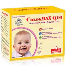ColosMAX Q10 sữa non cho bé chậm tăng cân