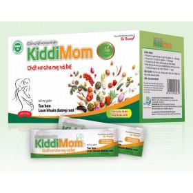 Cốm chất xơ tự nhiên hỗ trợ táo bón cho mẹ và bé Kiddimom