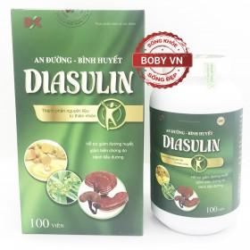 Diasulin - Hỗ trợ giảm đường huyết, giảm biến chứng do bệnh tiểu đường