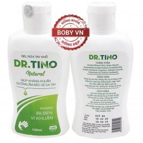 Gel rửa tay khô Dr. Tino giúp kháng khuẩn dưỡng ẩm bảo vệ da tay