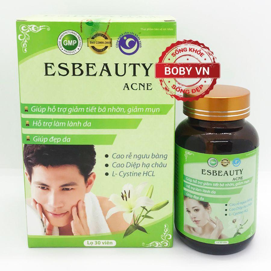 Esbeauty Acne - Làm đẹp da, giảm tiết bã nhờn, giảm mụn