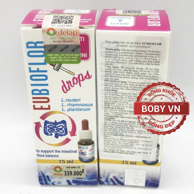 Men vi sinh Eubioflor - Bổ sung lợi khuẩn tăng cường tiêu hóa giúp trẻ ăn ngon - Chính hãng Ý