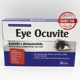 Viên sáng mắt Eye Ocuvite tăng cường thị lực và bảo vệ mắt (Hộp 30 viên)