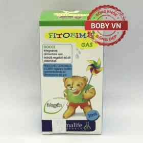 Fitobimbi Gas Bimbi - Hỗ trợ giảm đầy hơi nôn trớ chướng bụng tăng cường hệ tiêu hóa cho bé - Nhập khẩu Ý