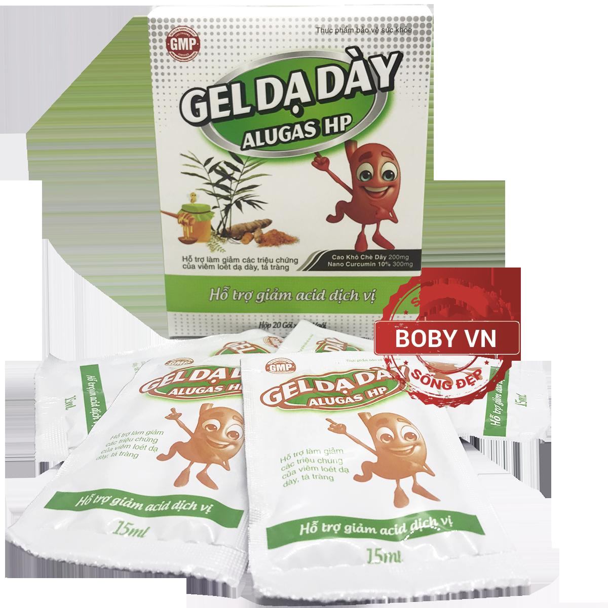 Gel Dạ Dày AlugasHp - Hỗ trợ giảm acid dịch vị