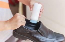 Giữ cho giày da thơm tho suốt cả ngày