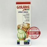 Golanil Junior - Xịt sát trùng họng giảm ho tăng sức đề kháng cho trẻ (Chai 30ml)