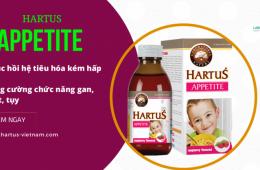[Review] Siro Hartus Appetite cho trẻ biếng ăn và chậm tăng cân