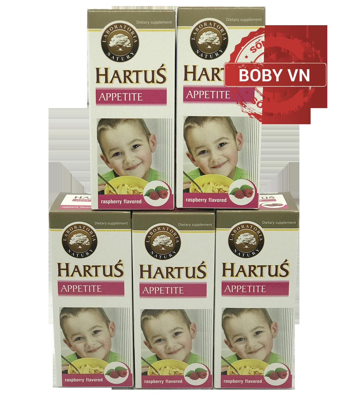 Siro Hartus Appetite cho trẻ biếng ăn chậm tăng cân