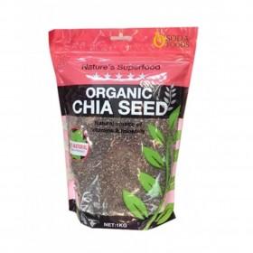 Túi hạt chia Organic Chia Seed Nature Superfood 500g của Úc