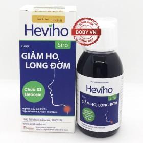 Heviho Siro giúp giảm ho, long đờm hiệu quả (Lọ 100ml)