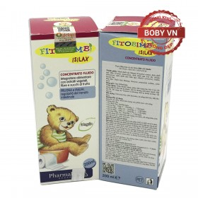 Fitobimbi Isilax bổ sung chất xơ hòa tan giảm táo bón cho bé - Lọ 200ml
