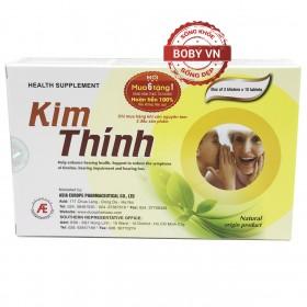 Kim Thính giúp tăng cường sức khỏe thính giác, giảm ù tai, nghe kém, suy giảm thính lực