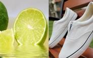 Làm sạch tinh giày màu trắng