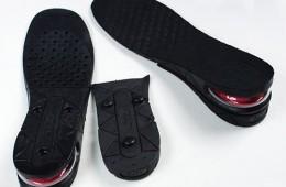Sử dụng lót giày tăng chiều cao