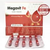 Megavit Fe - Sắt viên bổ sung Acid folic và Vitamin B12 (30 viên nang mềm)