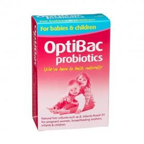 Men vi sinh optibac màu hồng cho bà bầu và trẻ sơ sinh