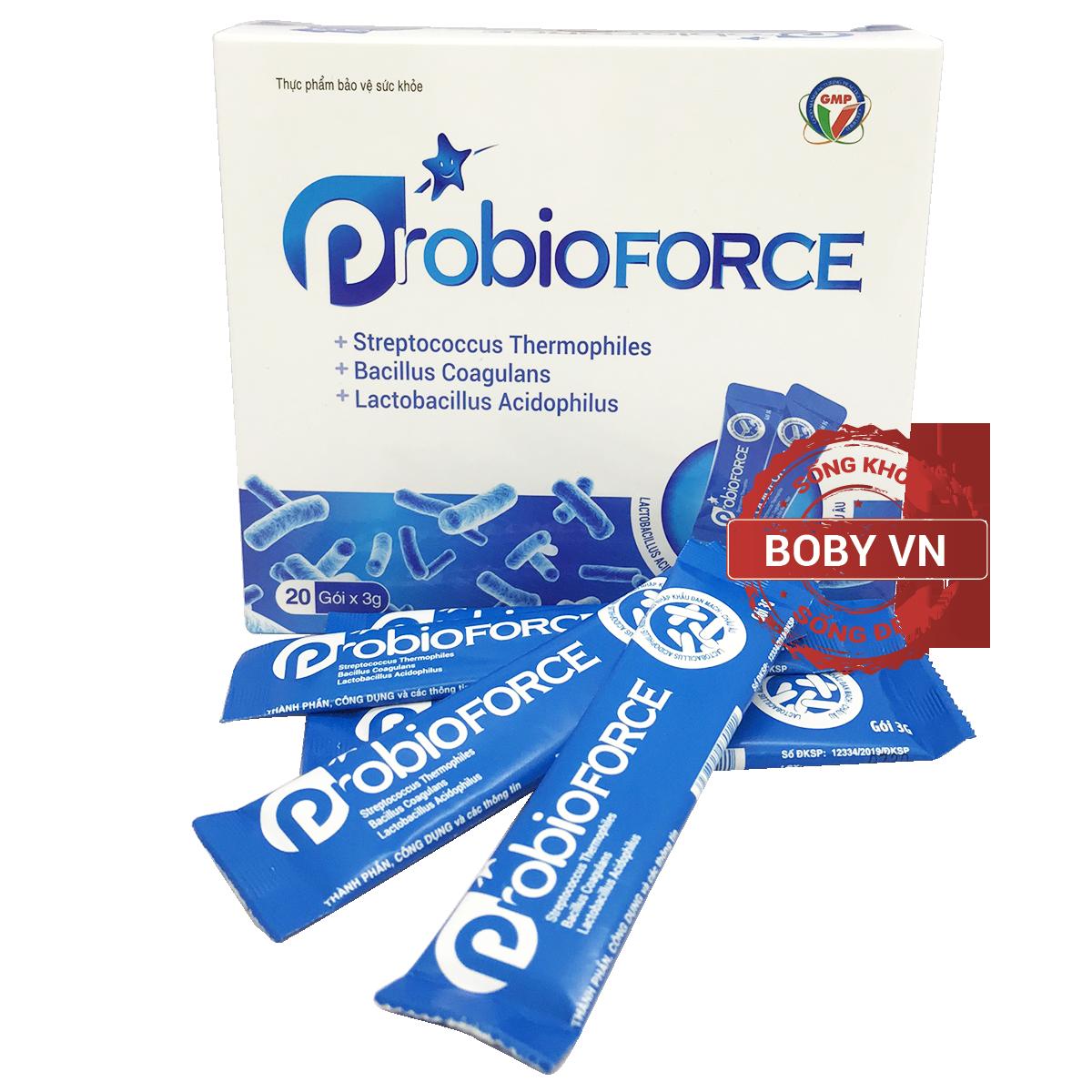 Men vi sinh Probioforce hỗ trợ đường ruột