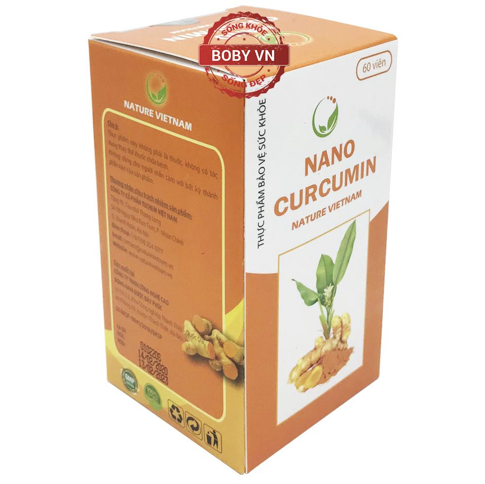 Nano Curcumin bảo vệ niêm mạc dạ dày, tá tràng, giúp giảm viêm loét dạ dày, tá tràng