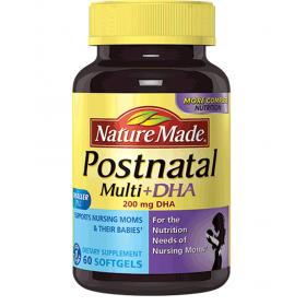 Nature made postnatal multi DHA cho phụ nữ đang cho con bú