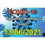 Sáng 13/6/2021 Việt Nam ghi nhận thêm 96 ca Covid-19