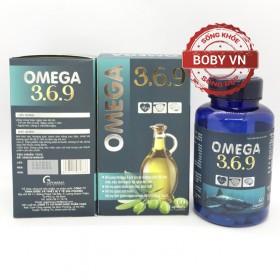Viên uống Omega 369 bổ sung Omega tốt cho mắt, não, tim mạch, giúp bổ não