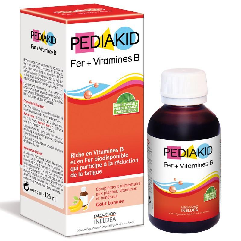 Pediakid Fer Vitamines B tăng cường đề kháng cho trẻ
