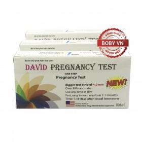 Que thử thai David Pregnacy test chính xác