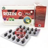 Rutin C Plus bổ sung vitamin C, tăng tính bền thành mạch, hỗ trợ giảm xuất huyết