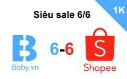 Hưởng ứng sự kiện Tháng 6 Shopee Lắc là Sale