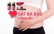 Hàm lượng sắt cần bổ sung mỗi ngày cho bà bầu 3 tháng đầu thai kì