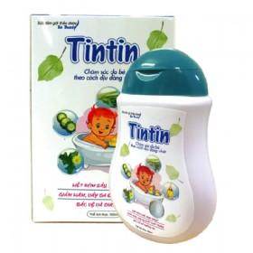 Sữa tắm gội cho bé không gây cay mắt không kích ứng da Tintin