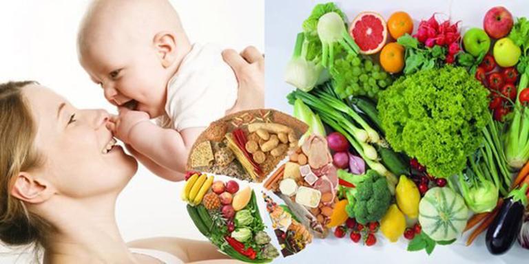 Thực phẩm bổ sung sắt sau sinh cho mẹ và bé