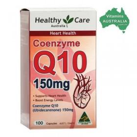 Thuốc bổ tim Healthy Care CoenZyme Q10 150mg, 100 viên