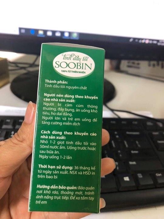 Tinh dầu tỏi SooBin