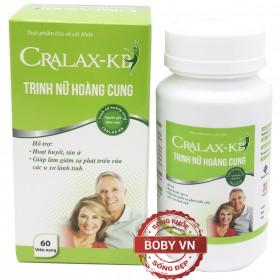 Cralax-KB trinh nữ hoàng cung hỗ trợ hoạt huyết (Hộp 60 viên)
