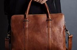 Cách lựa chọn túi xách da thông dụng cho nam giới